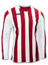 Copa Red/White Long Sleeve Shirt